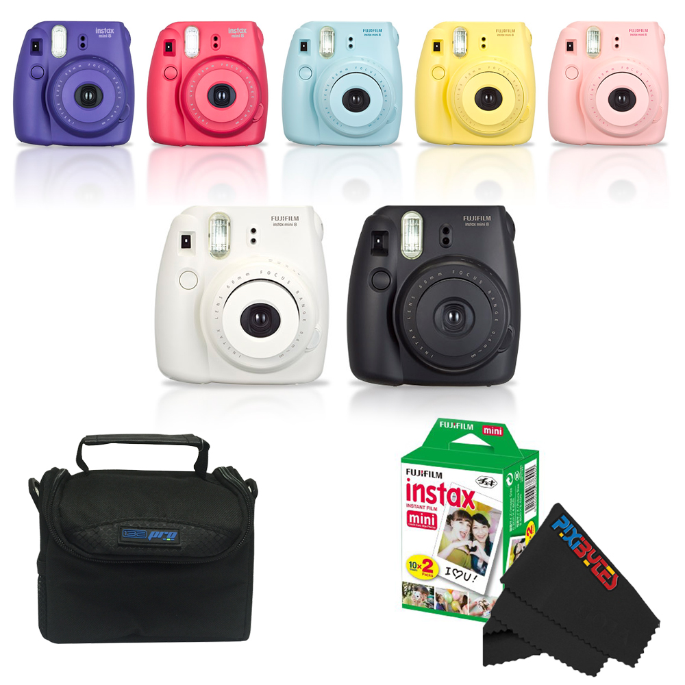 Fujifilm Instax Mini 8 Camera + Basic Bundle