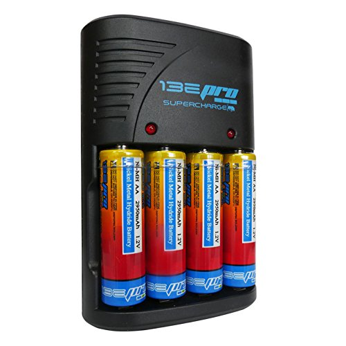 I3ePro BP-SCH1 Supercharge Ni-MH AA AAA 9V Rechargeable Battery