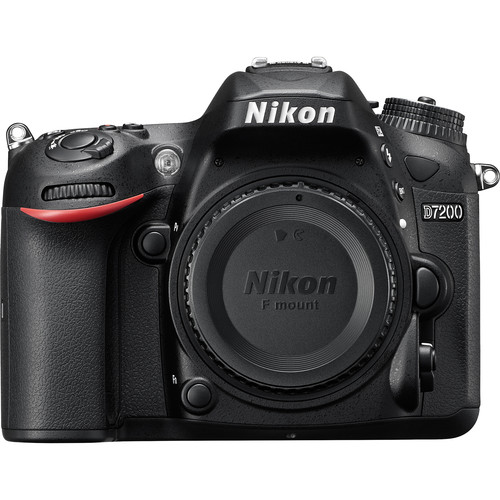 Nikon D7200 DSLR Camera with 18-55mm Lens + Pixi Advanced Kit
