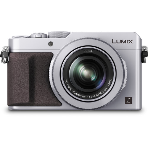 Panasonic Lumix DMC-LX100 Digital Camera (Silver)