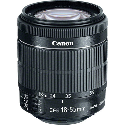 Canon EF-S 18-55mm f/3.5-5.6 IS STM Lens (Bulk Packaging)