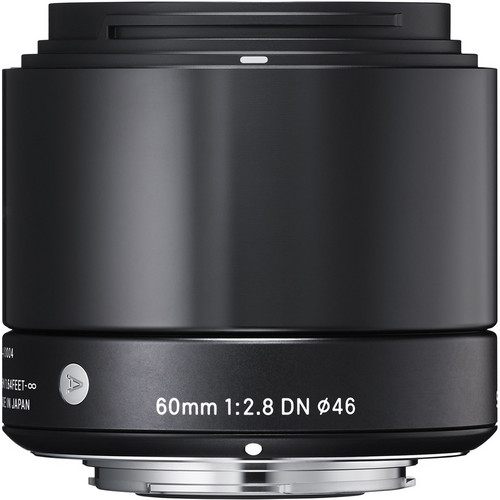 Sigma 60mm f/2.8 DN Lens for Micro Four Thirds Mount (Black)